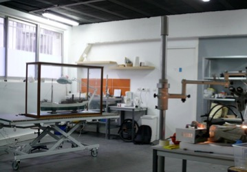 Atelier de conservation et restauration d'oeuvres d'art