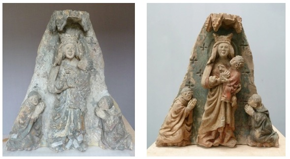 Vierge aux Moinillons