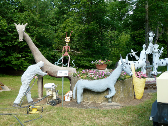Restauration conservation art brut