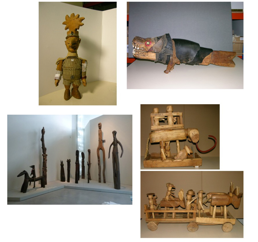 Restauration Art Brut Collection d'art brut du LAM
