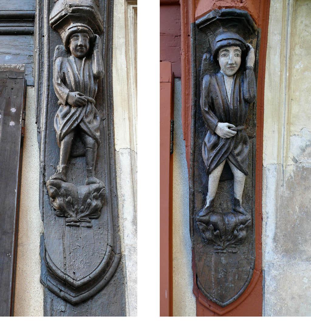 Étude et restauration de 3 groupes sculptés en bois polychromé