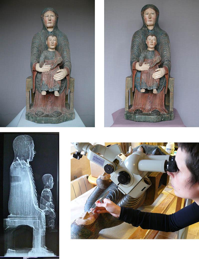 vierge en majesté Heume